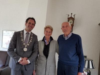 Bruidspaar Wim en Ria de Haas 60 jaar getrouwd!