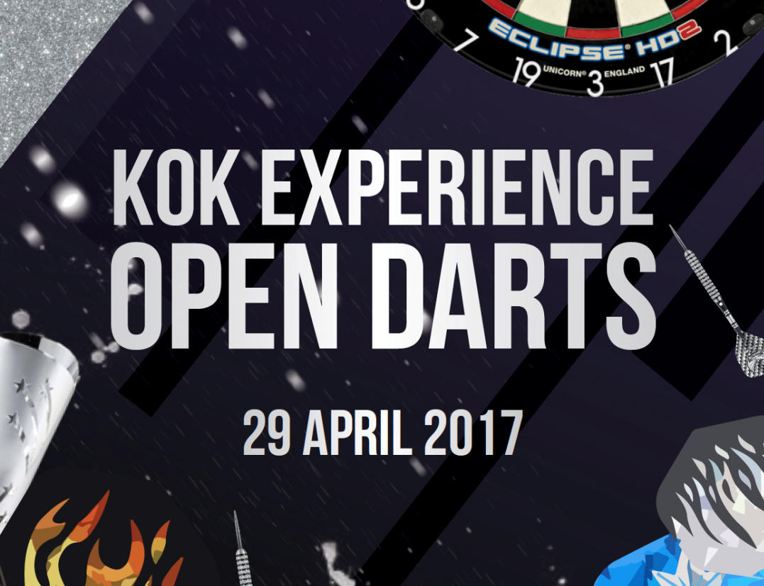 Open Darts bij Kok Experience