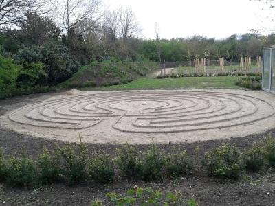 Labyrint op de Rietmeen