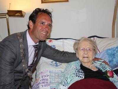 Oudste inwoonster van Harderwijk is 106 jaar geworden