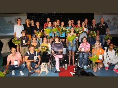 Harderwijk huldigt haar succesvolle sporters
