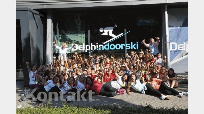 Kroatische kinderen genieten volop bij Delphindoorski in Ermelo