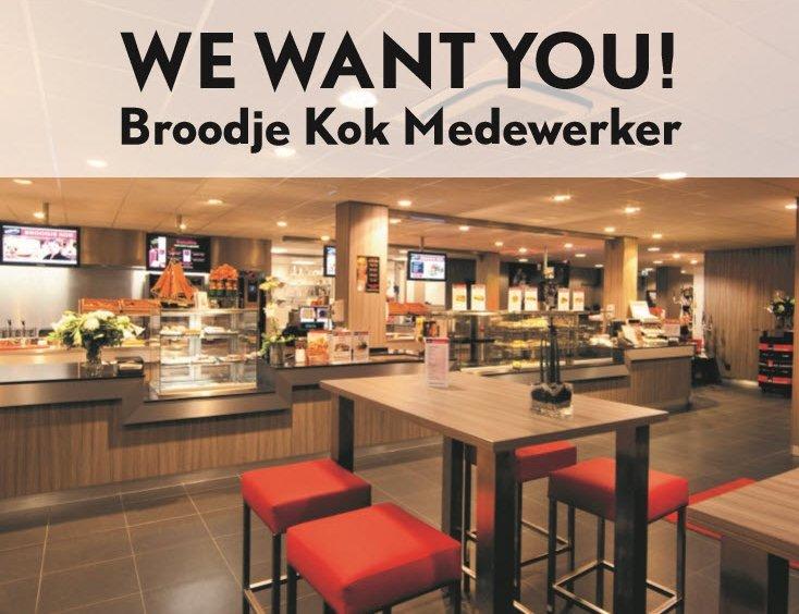 Vacature medewerker lunchroom Broodje Kok Harderwijk