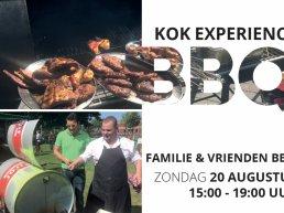Kok Experience familie & vrienden BBQ