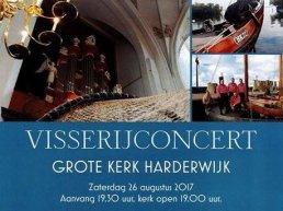 Visserijconcert in de Grote Kerk Harderwijk
