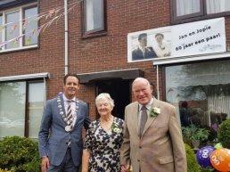 J. Verkerk en J.G. Verkerk-Renden 60 jaar getrouwd!