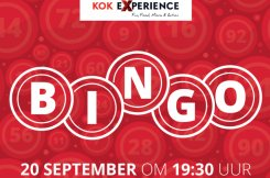 Kok Experience Bingo