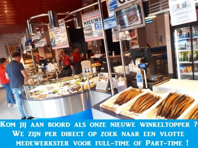 Kom jij aan boord bij Palingrokerij en Vishandel Dries van den Berg?