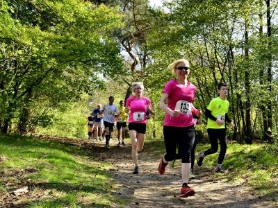 Hardlopen is gezond en lopen is in