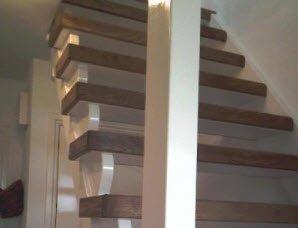 Traprenovatie met echt hout