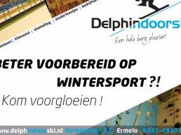Opendagen bij indoorski- en snowboardcentrum Delphindoorski in Ermelo
