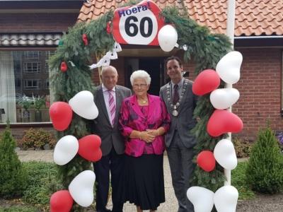 Dirk en Hennie Foppen-Mostert 60 jaar getrouwd!