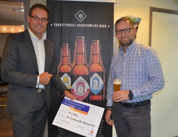 ´Rabobank Stimuleringsfonds maakt doelen Harderwijks Bier mogelijk´