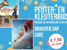 Peuter- en kleuterbios Cars en Dikkertje Dap