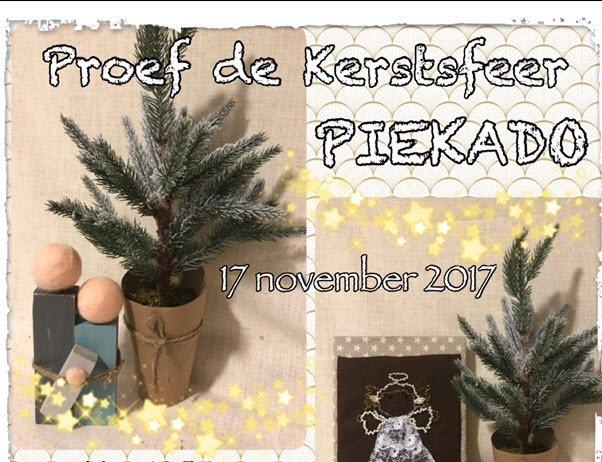 Proef de kerstsfeer bij Piekado