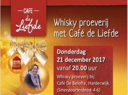 Wisky proeverij met Café de Liefde