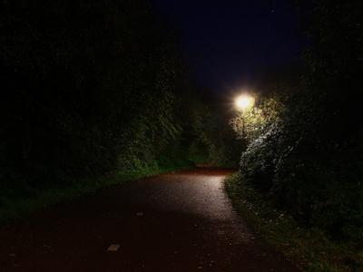 Bewust verlichten, donker waar mogelijk en licht waar nodig is