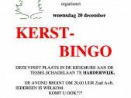 Kerstbingo wijkvereniging stadsdennen/frankrijk