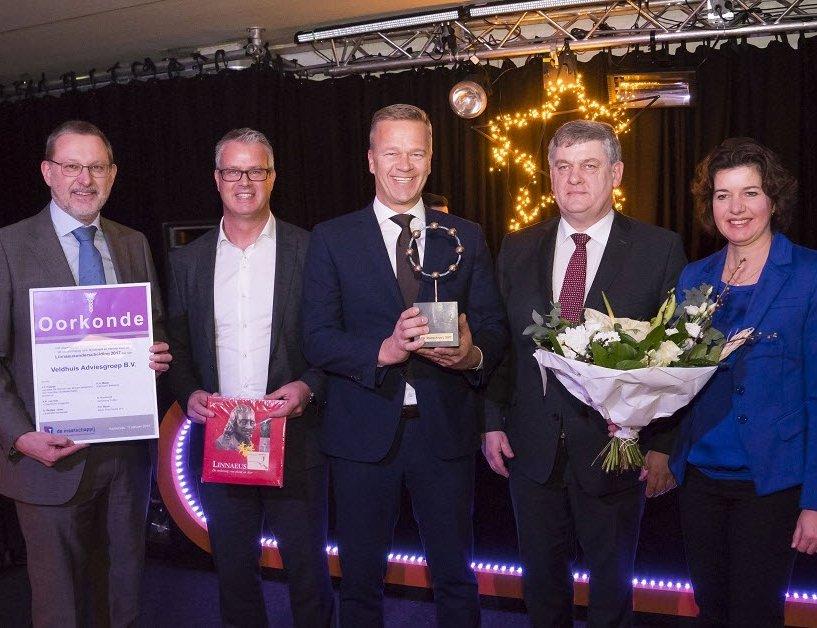 Nieuwjaarsreceptie en uitreiking Linnaeusprijs 2017