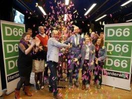 D66 presenteert verkiezingsprogramma aan vol Estrado
