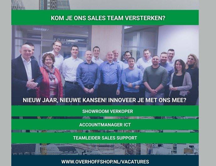 Vacatures bij Overhoff Telecom & ICT