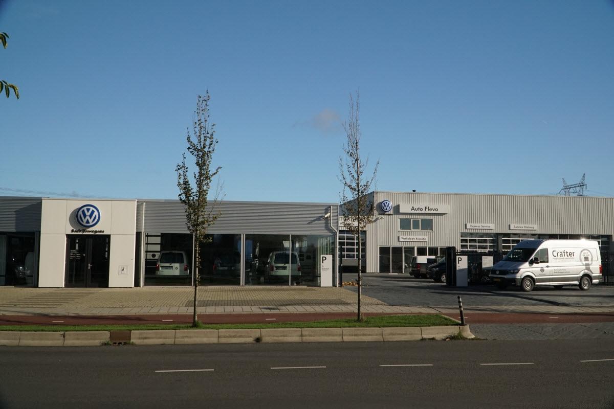 Volkswagen bedrijfswagencentrum in Harderwijk