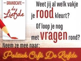 Politiek Café met alle Harderwijker lijsttrekkers
