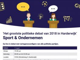 Het grootste politieke debat van Harderwijk