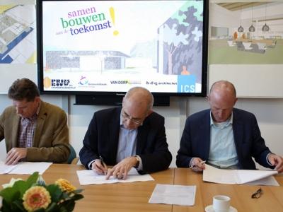 Start uitbreiding Christelijk College Groevenbeek