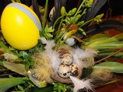 Paasworkshop bloemschikken door Groei & Bloei