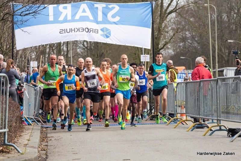10 km en de halve marathon van Harderwijk 2018 1