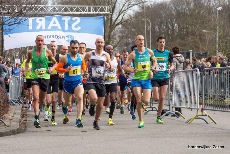 10 km en de halve marathon van Harderwijk 2018 2