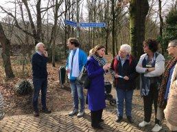 Kamerlid Stieneke van der Graaf bezoekt de A28