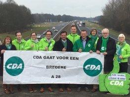 CDA voor bredere, stillere en schonere A28