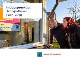 Inloopspreekuur De Hypotheker op 5 april!