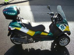 Dierenambulance Scooter