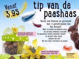 Verras uw klanten en personeel met 'n gevuld paasei van Van Dongen!