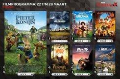 Filmprogramma kok CinemaxX kinderen van 22 maart tot 28 maart