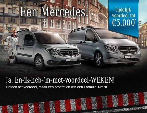 Wensink Mercedes-Benz Bedrijfswagens Harderwijk heeft goed nieuws voor u