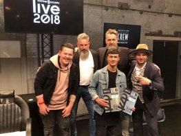 Ionut Matei van Barbershop Nero winnaar Europees kampioenschap barbier.