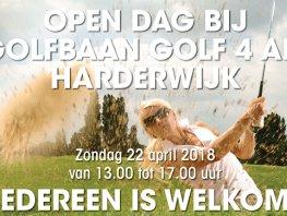 Open dag bij golfbaan Golf4All in Harderwijk