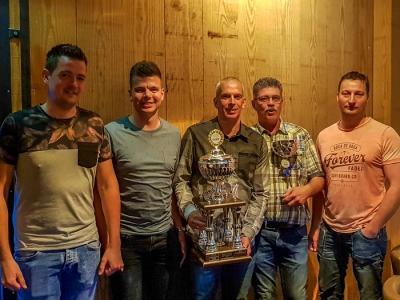 Julian Huisman Dienstverlening wederom Suez Bedrijven Dart Kampioen