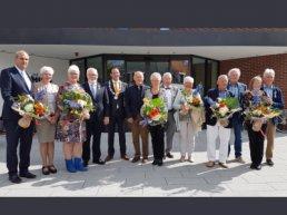 Zeven inwoners gemeente Harderwijk Koninklijk onderscheiden