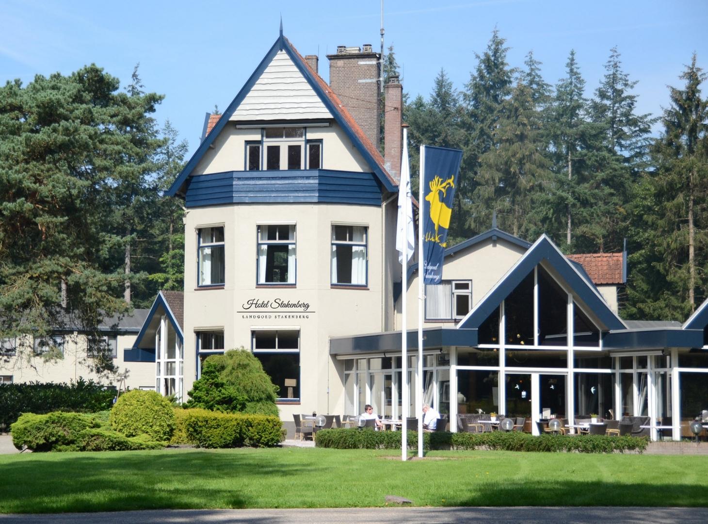 Vouchers bij Veluwe Hotel Stakenberg Elspeet 2=1 actie!