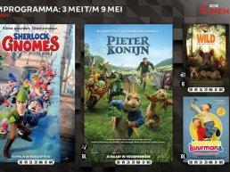 Het kinderfilmprogramma bij Kok CinemaxX van 3 mei t/m 9 mei
