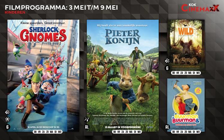 Nieuw filmoverzicht Kok CinemaxX en deze week verloten wij twee vrijkaarten