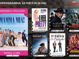 Het filmprogramma bij Kok CinemaxX van 10 mei t/m 16 mei
