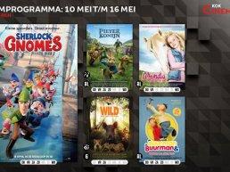 Het filmprogramma bij Kok CinemaxX van 10 mei t/m 16 mei voor kinderen