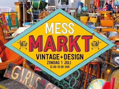 Liefhebbers van Vintage en Design gezocht voor eerste Mess Markt!
