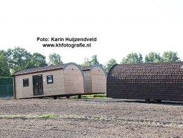 Eerste tijdelijke woningen arriveren op Struikterrein